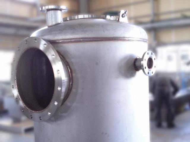 移動式シフォンタンク(溶接完了)