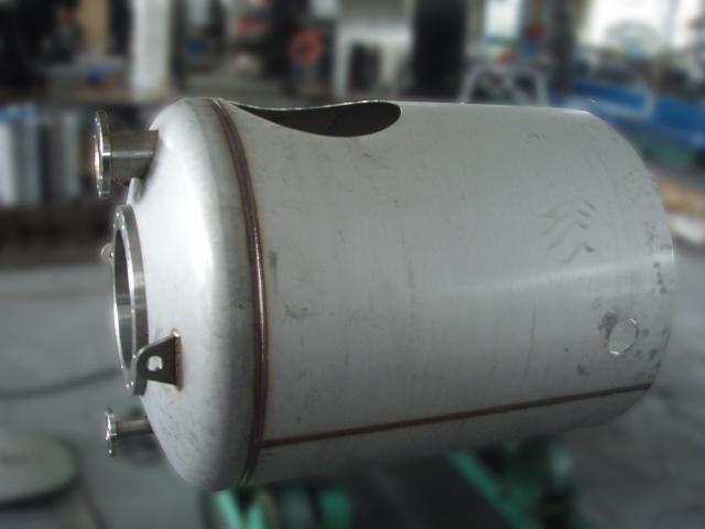 移動式シフォンタンク(製作途中)