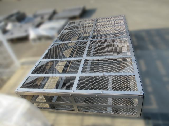 ローリー車-蒸発器架台